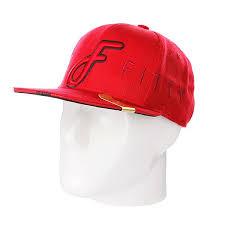 Купить <b>бейсболку Flat Fitty</b> Ff Wrap Red в интернет-магазине ...