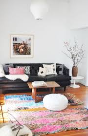 i normally shy away from black leather sofas too 90s but this black black leather sofa perfect