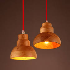 2016 new southeast asian style handmade wooden lamp led pendant lights creative minimalist fashion lighting asian pendant lighting