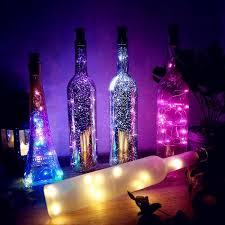 Cork Shaped Wine Bottle Lights 1m/2m DIY LED String Light with ...