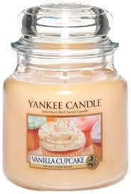 <b>Ароматическая свеча</b> Yankee Candle Vanilla Cupcake Medium Jar ...