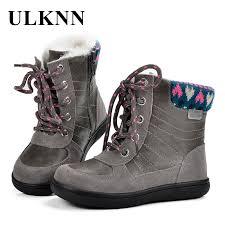 <b>ULKNN Winter Boots</b> Girls Warm Boots <b>Kids</b> For <b>Children</b> Snow ...