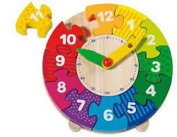Деревянный <b>пазл</b> Умные часы <b>GOKI</b> ― Мир <b>игрушки</b> | <b>Пазлы</b> ...