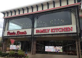 deen stores restaurants kitchen island: paula deens family kitchen in pigeon forge