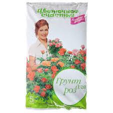 <b>Грунт</b> питательный <b>Цветочное счастье</b> Розы, 5 л в Твери ...