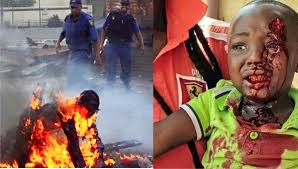 Image result for violence+south africa
