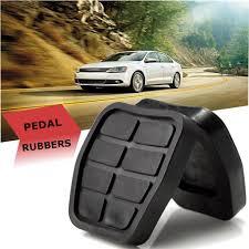 <b>2PCS Black Rubber</b> Pedal Brake Clutch Pads For VW Golf Jetta ...