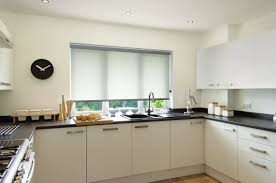 white roller blinds