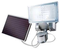 <b>Solar</b>-<b>Powered</b> Motion-Activated <b>150 LED</b> Security Floodlight ...