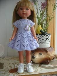 <b>Одежда</b> для Карлотты <b>Vestida de Azul</b> 28 см / <b>Одежда</b> для кукол ...