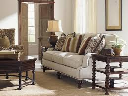 Tommy Bahama Dining Room Furniture Collection Tommy Bahama Home Kilimanjaro Amelia Sofa With Scalloped English