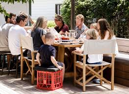 4 <b>outdoor</b> dining tables for <b>large summer</b> gatherings - Eco <b>Outdoor</b>