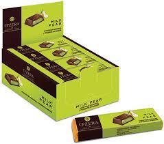 «OZera», <b>шоколадный батончик Milk</b> Pear, 50 г – купить по ...