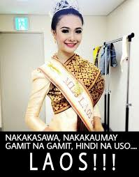 Funny Beauty Queen memes | peparazzi | PEP.ph: The Number One Site ... via Relatably.com