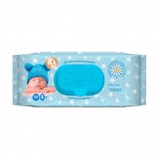 Детские влажные <b>салфетки Smile Baby</b>, 100 шт