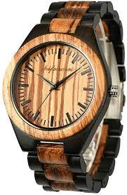 <b>shifenmei Wooden</b> Watches for <b>Men</b> Handmade <b>Wooden</b> Watches ...