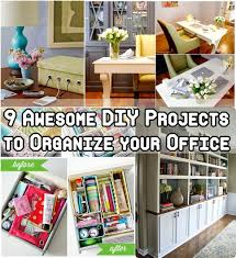 9 awesome diy projects to organize your office awesome organize office