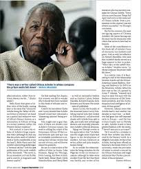 ayebia book details review of chinua achebe tributes and reflections nana ayebia clarke james currey eds ayebia clarke publishing 2014