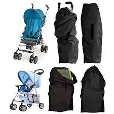 <b>1Pc High Quality</b> Baby Stroller Oxford Cloth Bag Buggy <b>Travel</b> Cover ...