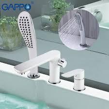 Gappo New <b>shower</b> set waterfall <b>bathtub sink faucet water</b> mixer ...