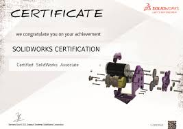 solidworks certification leads haile middle school students to certified solidworks associate certificate 1