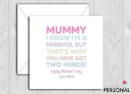 Karten & Schreibwaren Mummy Mother's day card personalised ...