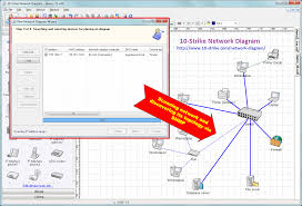 strike network diagram   software for creating topology diagramshow to create a network diagram  click to open a fullsize image
