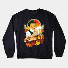 Oktoberfest Zinzinnati Crewneck Sweatshirts   TeePublic
