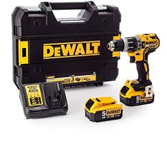 <b>Dewalt DCD796P2</b>-GB <b>DCD796P2</b> Combi Drill 18V XR Brushless ...