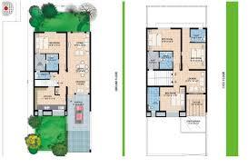 Floor Plans  The Neighbourhood   Hyderabad Residential Property    ROW HOUSING EAST FLOORPLAN