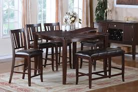Tall Dining Room Set Kitchen Wood Kitchen Table And Chairs Sets Counter Height Dining