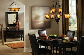 Transitional Dining Room Set Dining Room Lighting Fixtures With Beautiful Chandelier Light Over