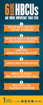 why choose an hbcu uncf reasons to choose an hbcu