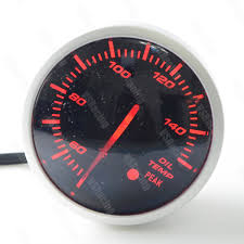 2.5 Inch <b>60mm</b> Universal <b>12V</b> DF Link BF Gauge Car Meter <b>Oil</b> ...