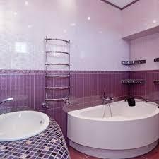 75 Beautiful Ceramic Tile Purple Floor Bathroom Pictures & Ideas ...
