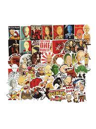 <b>Набор стикеров</b> Аниме <b>One</b> Punch Man (Ванпанчмен) FANDOM ...