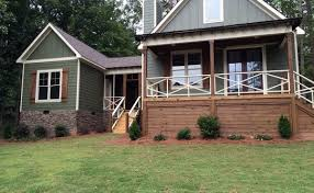 Small House Plans   Small Home Designs by Max Fulbrightdog trot cabin house plan   loft