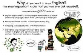 why we learn english why we learn english