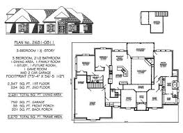 bedrooms  ½ story     square feet   Story  Bedroom    Bathroom  Dining Area  Family Room  Game Room  Study  Future Room Car Garage  Square Feet House Plan