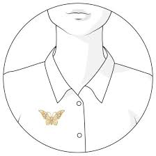 Купить <b>SOKOLOV Позолоченная брошь</b> «<b>Бабочка</b>» 93040016 по ...
