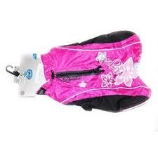 <b>Rogz попона утепленная</b>, длина спины собаки 28 см розовая