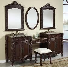 bathroom modern vanity designs double curvy set:  bathroom bathroom vanities lowes with pompeii design double sink and double vanity with wooden design