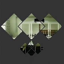Buy Modern Art Mural <b>Acrylic Mirror Wall</b> Sticker DIY Decal Home ...