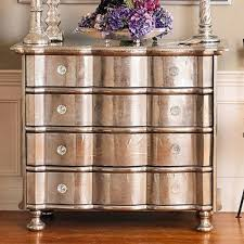 room silver leaf silver leaf dresser chest of drawers purple accents