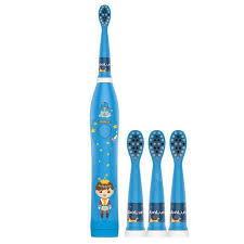 <b>Monclique</b> Children Ultrasonic Electric <b>Toothbrush</b> Blue ...