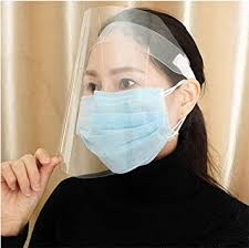 3 Pack Face Shields Adjustable Transparent Face ... - Amazon.com