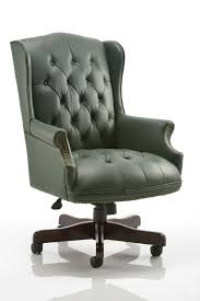 fantastic green leather office chair pi20 awesome green office chair