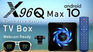 Latest 2020 <b>X96Q Max</b> Allwinner H616 Android 10 Q 4K TV Box ...