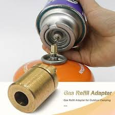 Gas Refill Adapter for <b>Outdoor Camping Hiking Stove</b> Tank Inflate ...