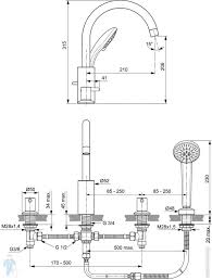 <b>Ideal</b> Standard CERALINE Смеситель для ванны/<b>душа</b> BC198AA ...